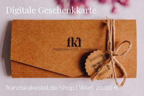 Digitale Geschenkkarte